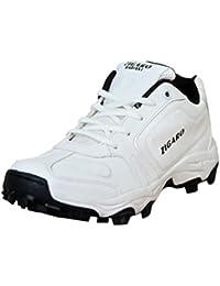 ZIGARO Radiant Cricket White Shoe