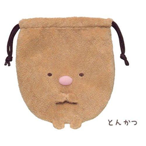 Corner Gurashi Stofftier Handtasche (Schweineschnitzel)