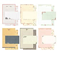 IMagicoo 48 Cute Lovely Writing Stationery Paper Letter Set with 24 Envelope/Envelope Seal Sticker (10)