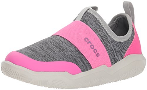 Crocs Kids Flip Flop (crocs Kinder, Mädchen, Jungen' Swiftwater Easy-On Heathered Shoe Children Girls Boys)