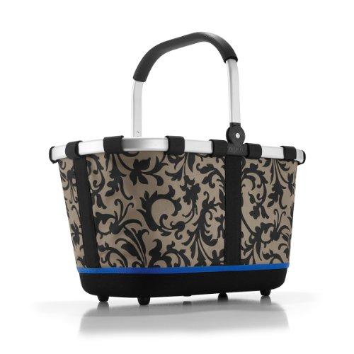 Reisenthel - Paniere, cesto per la spesa/da picnic con manici, colore e motivo a scelta, artist stripes (multicolore) - BL3058 - - barock taupe