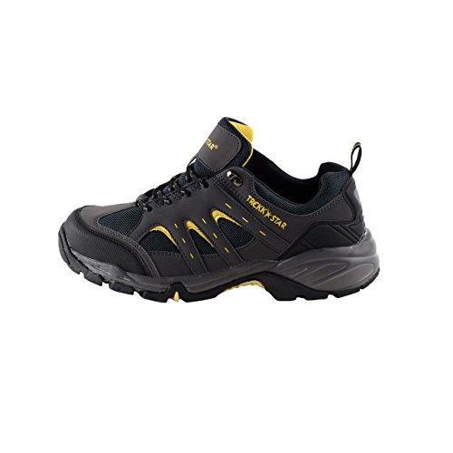 HSM Schuhmarketing, Chaussures montantes pour Homme Noir