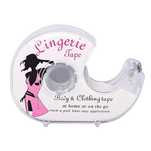 Doppelseitiges Blitzband Safe für Körperbekleidung Butt Pads Nippel Cover sicherer medizinischer Grad 16.4Ft / Roll