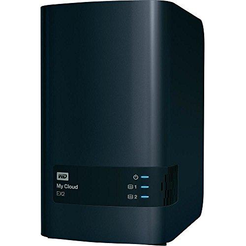 Western Digital  10TB My Cloud EX2 NAS Festplatte – LAN – WDBVKW0100JCH-EESN | 0718037829838