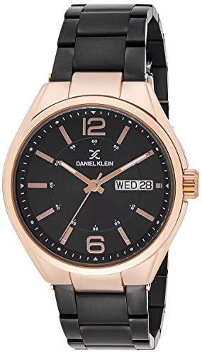 Daniel Klein Analog Black Dial Men's Watch-DK11658-4