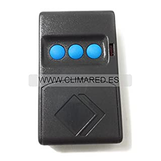 MOTORLINE MX3Remote Garage Original Code Fixed 433.92MHZ FOR Systems MOTORLINE Professional, 3Channels, Battery included.