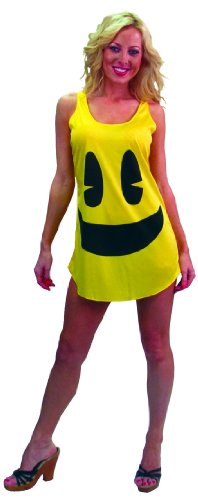 Pac-Man Deluxe Costume Tank Costume Dress Adult/Teen -
