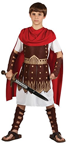 FG Costumes Römisches Gladiator Centurion Warrior Boys Fancy Dress Kostüm 134-146cm