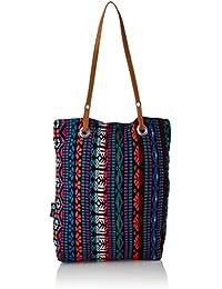 Kanvas Katha Women's Tote Bag (Multi-Colour)