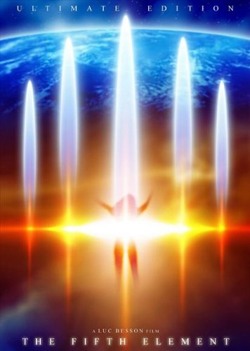 The Fifth Element Affiche du film Poster Movie Le cinquième élément (27 x 40 In - 69cm x 102cm) Style E