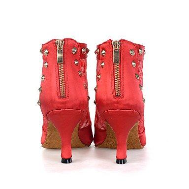 Scarpe da ballo-Personalizzabile-Da donna-Danza del ventre / Balli latino-americani / Jazz / Sneakers da danza moderna / Moderno / Samba Black