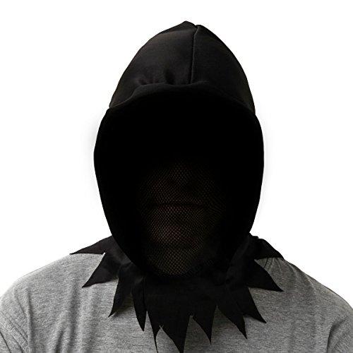 Brauns-Heitmann 6875 Halloween Henker Kapuze, schwarz
