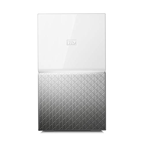WD My Cloud Home Duo 20 TB Persönlicher Cloudspeicher - Externe Festplatte 2-Bay - WLAN, USB 3.0. Backup, Videostreaming - WDBMUT0200JWT-EESN