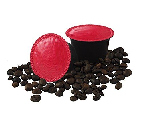 ODC MADE IN ITALY Kit de 100 CÁPSULAS Caffè Sabor INTENSO Compatible con las Máquinas de Espresso LAVAZZA BLUE.