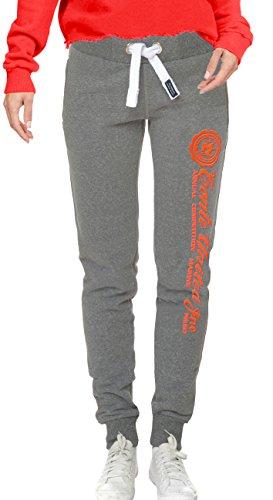 Pantalons de survêtement de jogging M.Conte pantalon pour les femmes Bleu - Rich Blue
