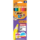BIC Jumbo Super Soft Color Pencils with Sharpner (Yellow)