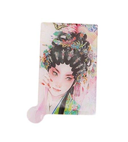 3Pcs Peking-Oper Spiegel Beleuchtete Der Spiegel Der Spigel Schminkspiegel