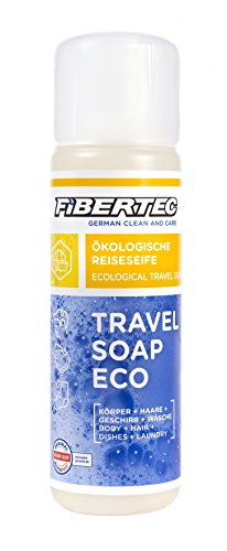 Fibertec Travel Soap Eco Reiseseife, transparent, 250 ml