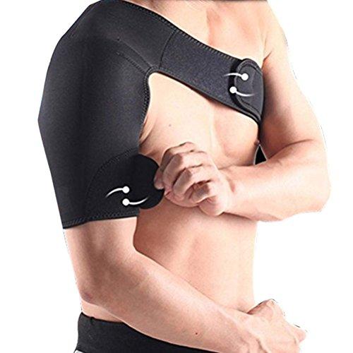 VORCOOL Verstellbarer Schulterbandage Sport Displayschutzfolie rechten Schulter Schwarz