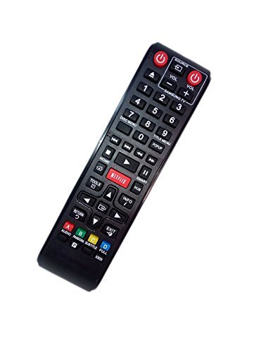 Replaced Remote Control Compatible for Samsung BD-E5900 ZA AK5900167A BDEM57 BD-F5900 BD-F7500 XU BD Blu-Ray DVD Disc Player  available at amazon for Rs.2328