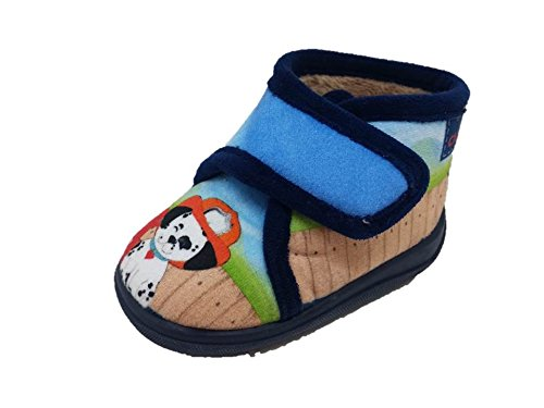 Chispas-474-Zapatillas-de-estar-por-casa-infantil-nio-patrulla-canina-marino