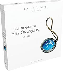 Asmodee - scts03fr - Time Stories - Extensión a Prophecy of Dragon