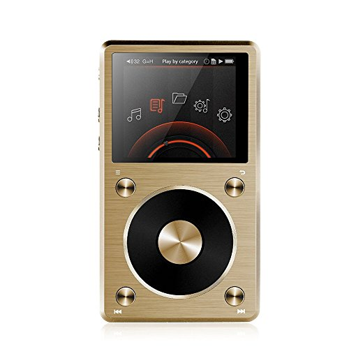 dsd player FiiO X5 II mobiler High Res Musik Player - USB DAC - DSD, WAV, FLAC, MP3