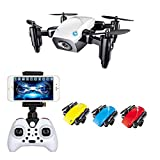 Premsons® RC Drone Mini Selfie Pocket Drone Quadcopter with Camera Live Video Headless