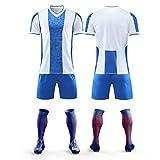 HS-HWH316 RCD Espanyol # 7 Iglesias Football Anti-Rides Respirant Formation Porter des Vêtements De Sport Adulte Et Enfants Football T-Shirt Cadeau,2XS145~155CM