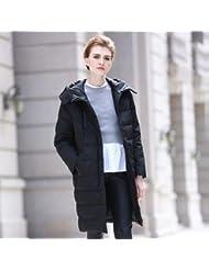 YRF Robes de l'hiver. Manteau à capuchon droite. Longs bas Mesdames padded manteau veste.