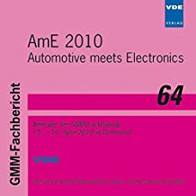 AmE 2010 - Automotive meets Electronics, CD-ROM GMM-Fachtagung vom 15. bis 16. April 2010 in Dortmund