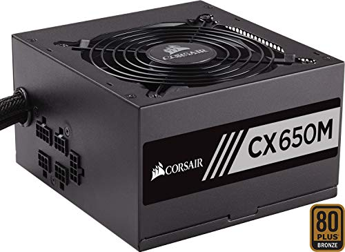 Corsair CX650M Alimentatore PC, Semi...