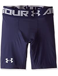 Under Armour Men's Compression Shorts UA HeatGear Armour 2.0, Half-length Compression Trousers, Men's Workout Shorts with Compression Fit