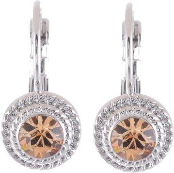 Ohrringe silber farbig mit Swarovski® Steinen - Colorado -