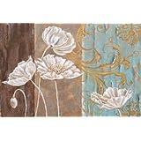 feelingathome-Impresi—n-artistica-Blanc-Coquelicot-et-Queen-Annes-Lace-I-cm103x156-poster-lamina-para-cuadros