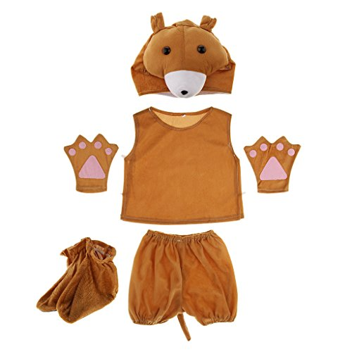 Kostüm - Bär (Bär Kinder Kostüm)