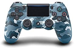 PlayStation 4 - DualShock 4 Wireless Controller, Blue Camouflage