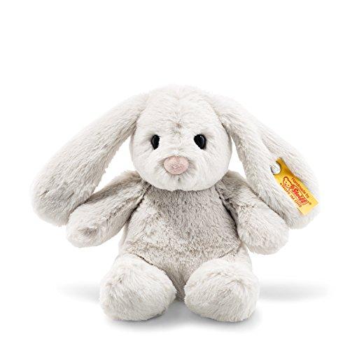 Steiff Soft Cuddly Friends Hoppie Hase Kuscheltier, hellgrau
