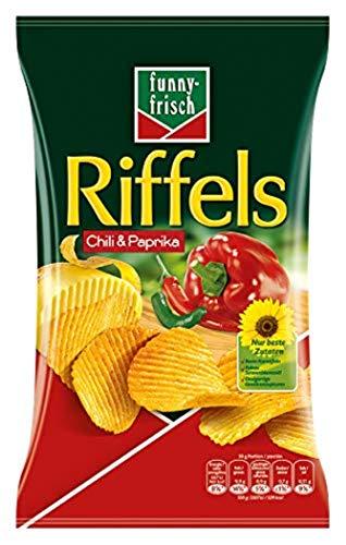 funny-frisch Riffels Chili und Paprika, 10er Pack (10 x 150 g)
