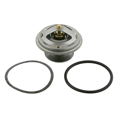 Preisvergleich Produktbild febi bilstein 26627 Thermostat mit O-Ring und Dichtung ,  Schalttemperatur 79° C,  1 Stück