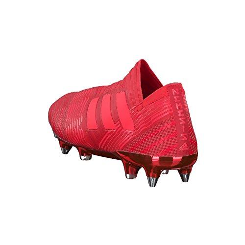 adidas Herren Nemeziz 17+ SG Fußballschuhe Rot (Reacor/Redzes/Reacor Reacor/Redzes/Reacor)