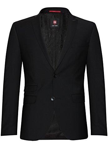 Michaelax-Fashion-Trade -  Blazer  - Basic - Maniche lunghe  - Uomo Schwarz (90)