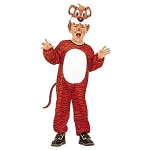 WIDMANN Tigri 36629 - Disfraz para niños, multicolor, 110 cm/3 - 4 años
