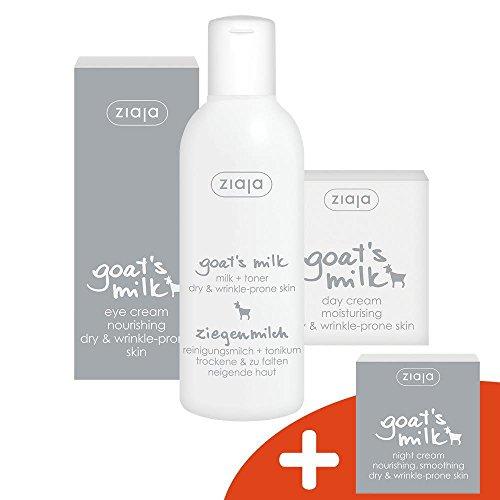 Ziegenmilch Gesichtspflege-Set mit GRATISPRODUKT - Intensive Nourishing Day Cream