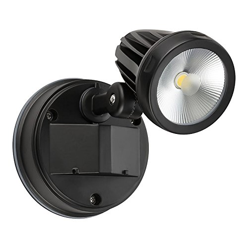 13-Watt-LED-Flutlicht-Fluter-Auenlampe-230V-IP-54-Gehusefarbe-schwarz-EEK-A-A