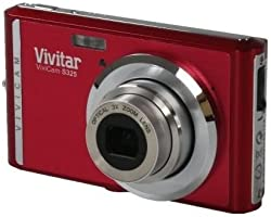 Vivitar VS325-RED-BX-IT-EU Appareil Photo Numérique 16 Mpix Rouge