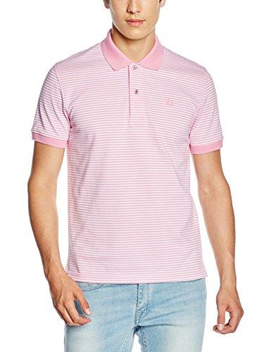 Toro Herren Poloshirt Polo M/C Mil Rayas Rosa
