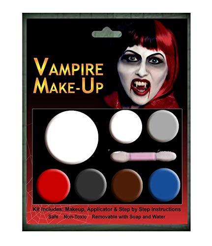 Islander Fashions Halloween Vampir Teufel Komplett Make-up Kit Erwachsene Horror Party Kost�m Zubeh�r Einheitsgr��e