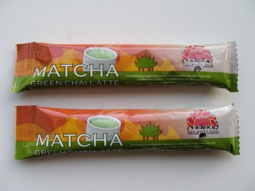 Darboven Chaipur Matcha Green Chai latte, Portionen 50 x 34g Instant Tee