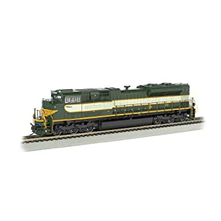 Bachmann 66002 H0 EMD SD70ACe w/Sound & DCC - Heritage Editions -- Norfolk Southern #1068 (Erie; 2-Tone Green)